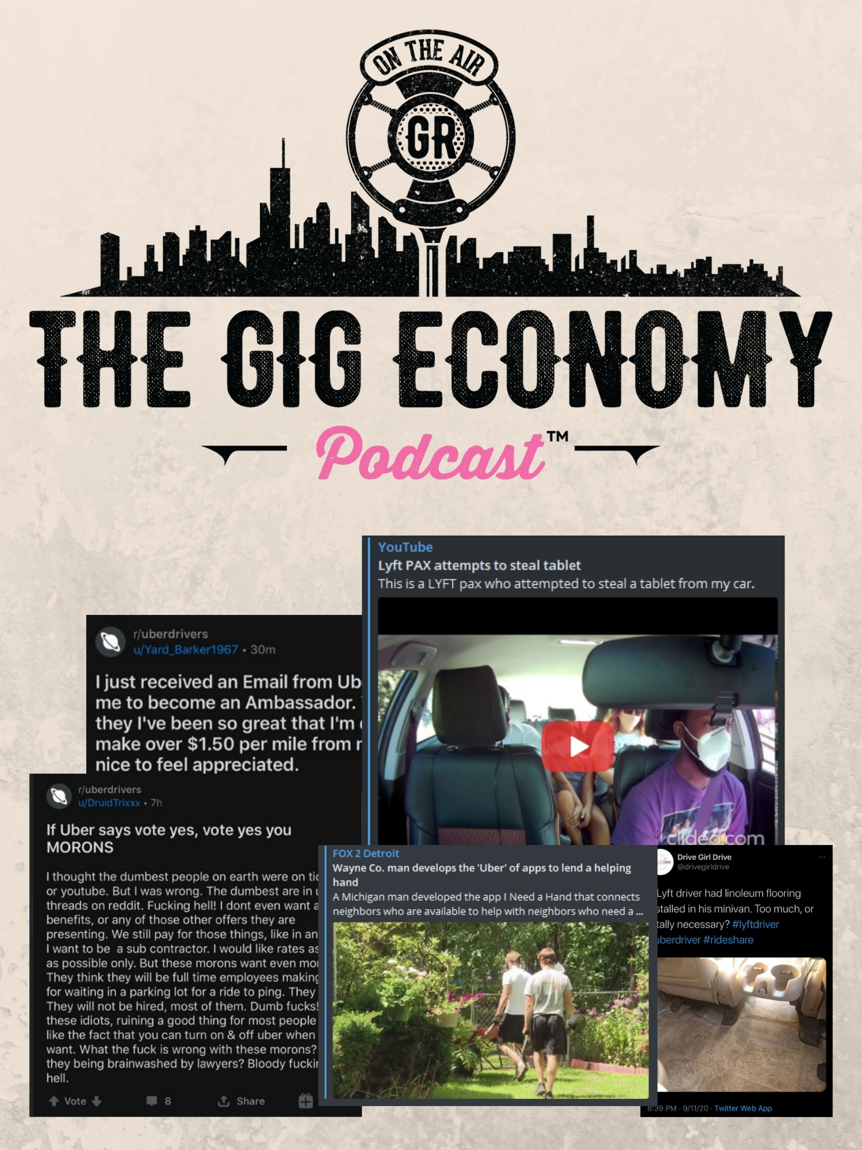 Episode #68 Uber wants to go all electric with owning no cars!