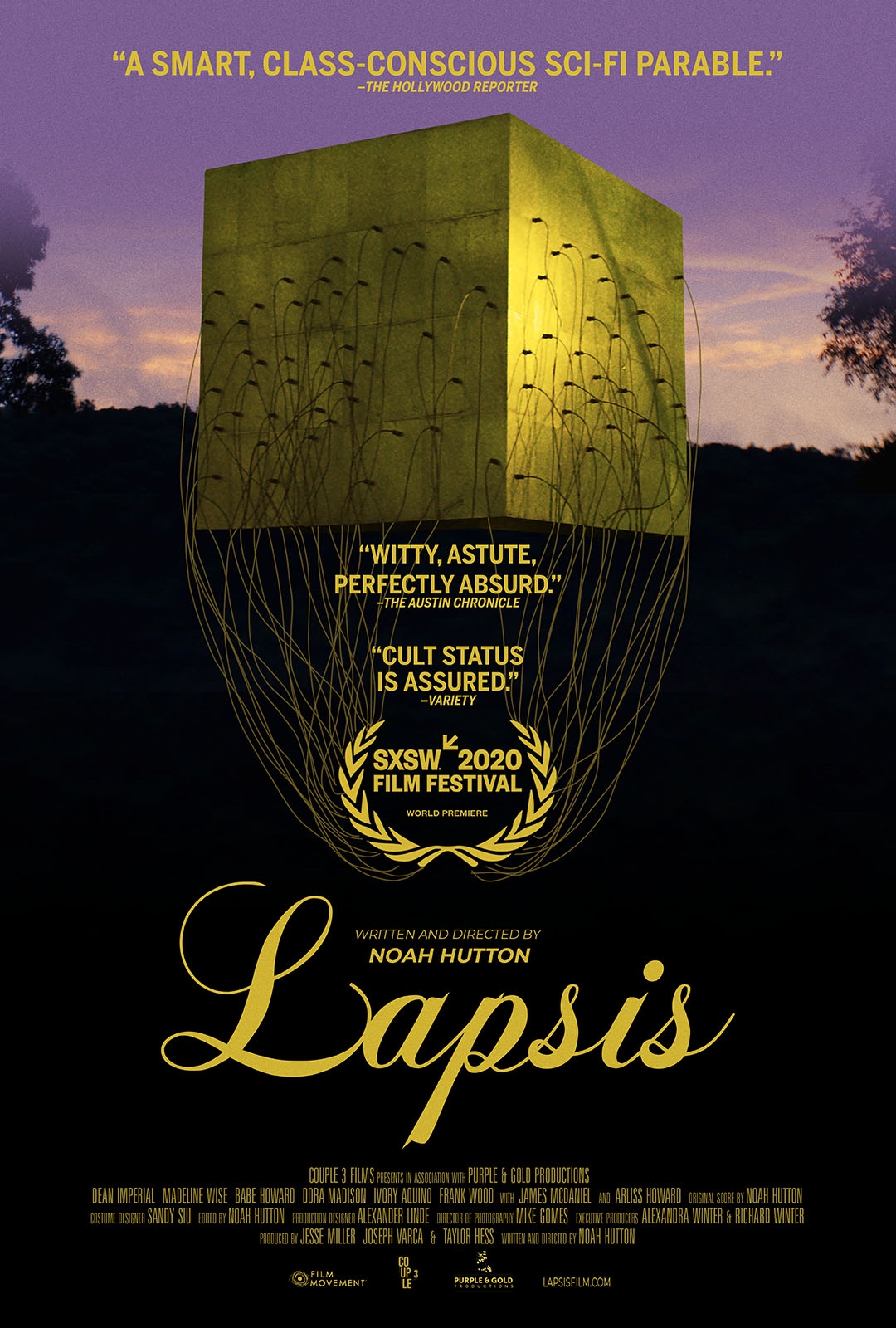 Bonus Episode: Interview with Noah Hutton, the director of the Gig based movie Lapsis